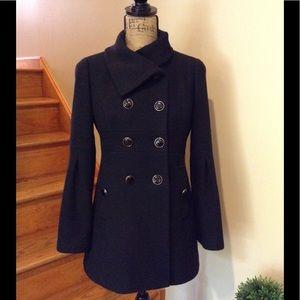 LOFT beautiful black coat.